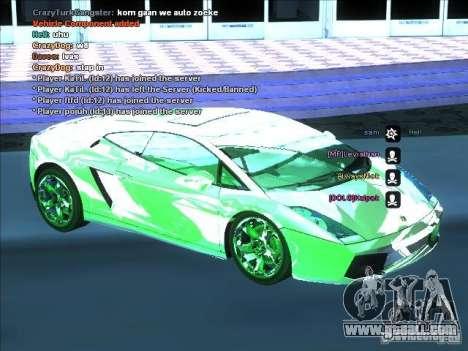 ENB series for weak video card for GTA San Andreas forth screenshot
