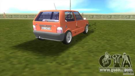 Fiat Uno for GTA Vice City right view