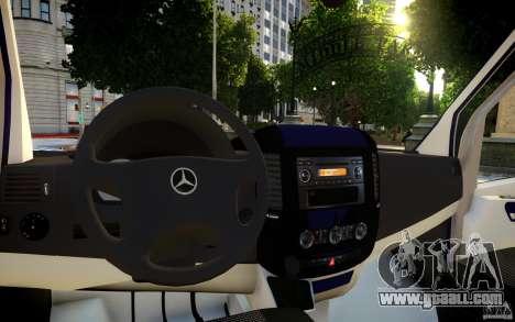 Mercedes-Benz Sprinter Passenger for GTA 4 engine