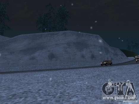 Snow for GTA San Andreas seventh screenshot