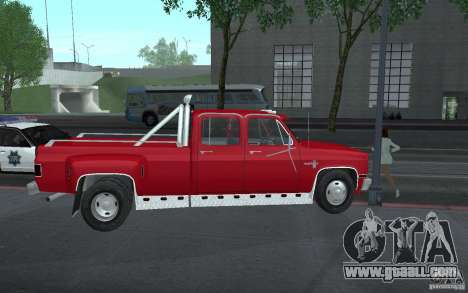 Chevrolet Silverado 3500 for GTA San Andreas side view