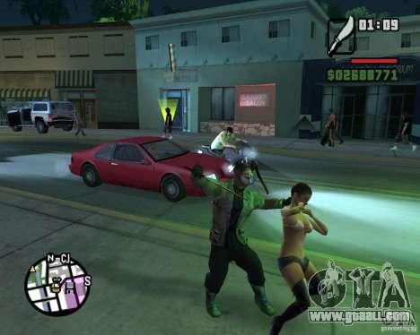 Jason Voorhees for GTA San Andreas fifth screenshot