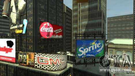 Time Square Mod for GTA 4 fifth screenshot