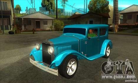 Ford A 1928 Hotrod for GTA San Andreas