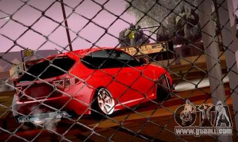 Subaru Impreza WRX Camber for GTA San Andreas back view