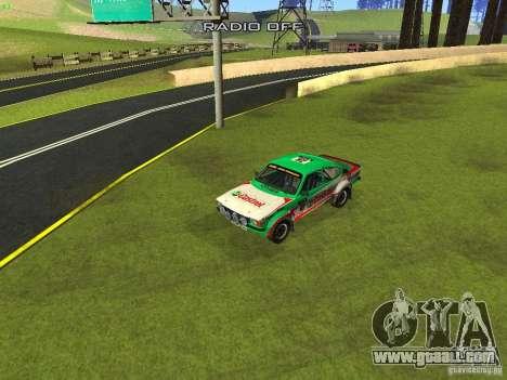 Opel Kadett for GTA San Andreas interior