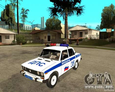 VAZ 2106 DPS for GTA San Andreas
