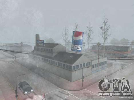 Pepsi vending machines and plant for GTA San Andreas second screenshot