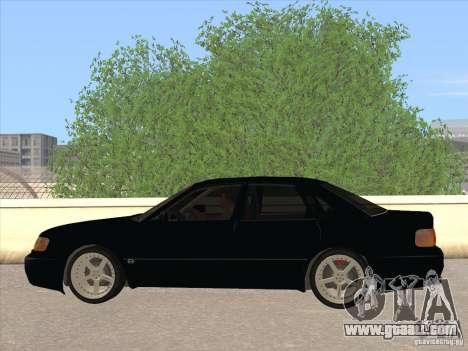 Audi 100 for GTA San Andreas left view