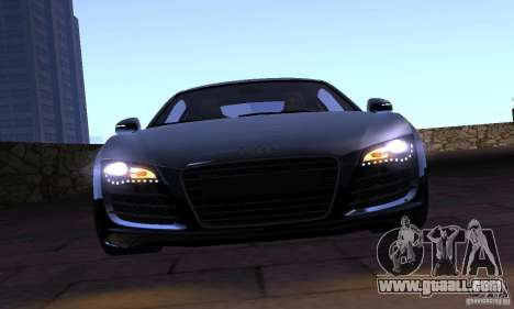 Audi R8 4.2 FSI for GTA San Andreas back view