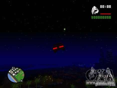 Starry sky V 2.0 (single player) for GTA San Andreas fifth screenshot