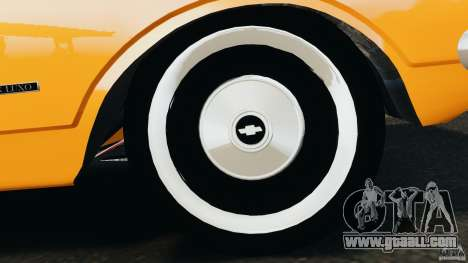 Chevrolet Opala Gran Luxo for GTA 4 bottom view