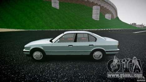 BMW 535i E34 for GTA 4 left view