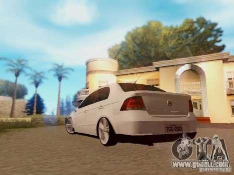Volkswagen Voyage G5 Roda Passat CC for GTA San Andreas left view