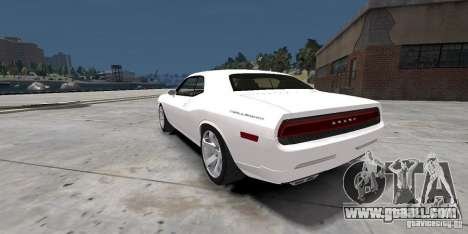 Dodge Challenger 2006 for GTA 4 left view