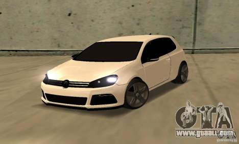 Volkswagen Golf R Modifiye for GTA San Andreas
