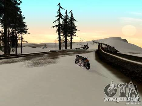 Winter for GTA San Andreas seventh screenshot