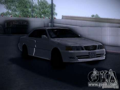 Toyota Chaser 100 for GTA San Andreas right view
