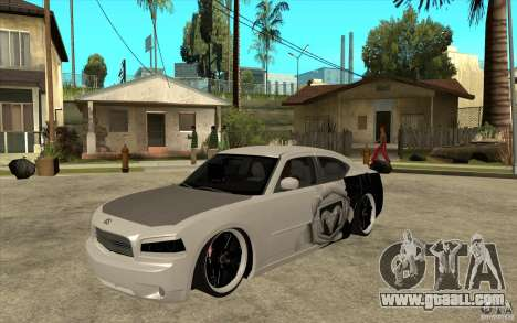 Dodge Charger SRT8 Tuning for GTA San Andreas