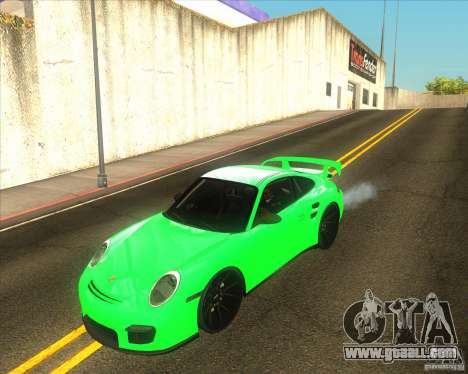 Porsche 911 GT2 (997) black edition for GTA San Andreas