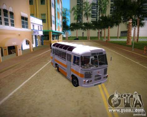 Paz-672 for GTA Vice City right view