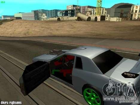 Elegy Dark Evolution Drift Final for GTA San Andreas back left view
