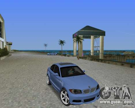 BMW 135i for GTA Vice City