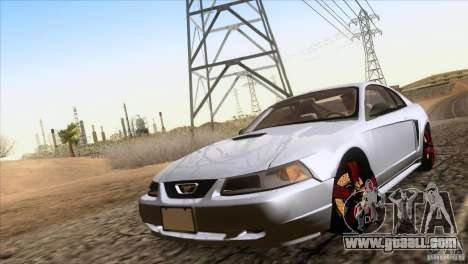 Ford Mustang GT 1999 for GTA San Andreas right view