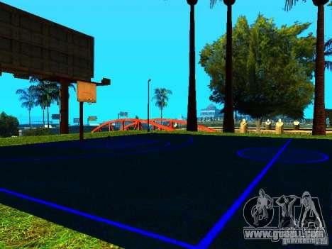 Basketball court for GTA San Andreas second screenshot