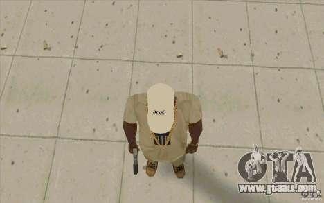 Boss Cap white for GTA San Andreas third screenshot