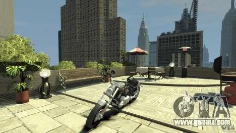 Harley Davidson V-Rod (ver. 0.1 beta) HQ for GTA 4 left view