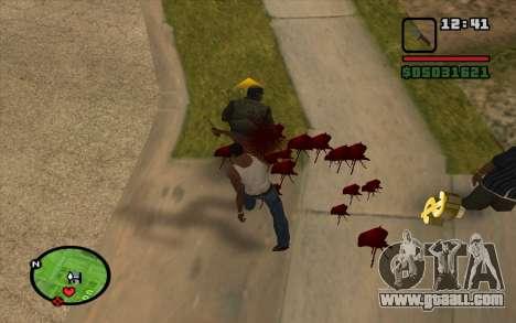 AKM bayonet for GTA San Andreas third screenshot