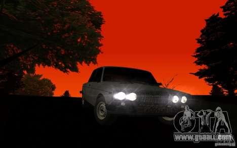 VAZ 2106 Tyumen for GTA San Andreas back view