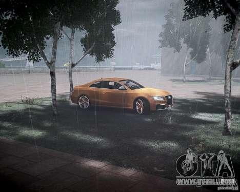 Audi RS5 2010 for GTA 4 inner view