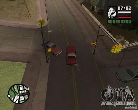 Camera as in GTA Chinatown Wars for GTA San Andreas forth screenshot