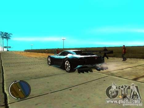 Lexus LFA for GTA San Andreas left view