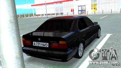 BMW E34 V1.0 for GTA San Andreas side view