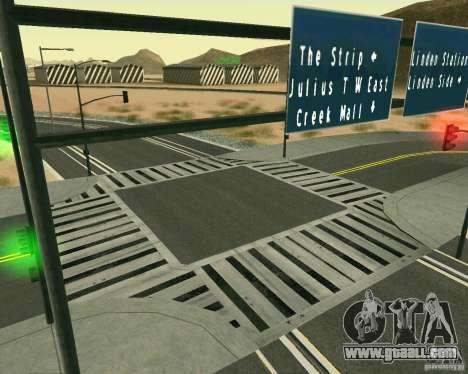 GTA 4 Road Las Venturas for GTA San Andreas