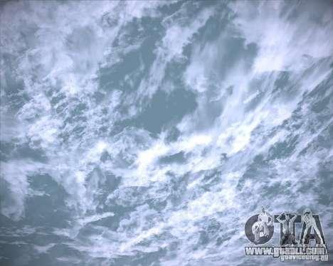 Real Clouds HD for GTA San Andreas tenth screenshot