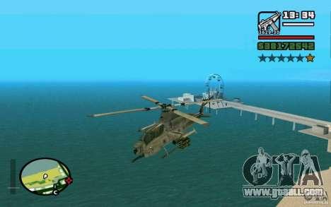 Bell AH-1Z Viper for GTA San Andreas