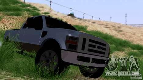 Ford F350 Super Dute for GTA San Andreas