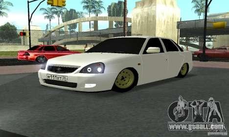 Lada Priora Luks for GTA San Andreas