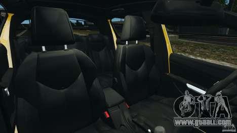 Peugeot 308 GTi 2011 Taxi v1.1 for GTA 4 inner view
