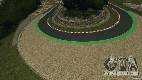 SPA Francorchamps [Beta] for GTA 4 seventh screenshot