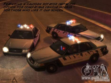 EMERGENCY LIGHTING SYSTEM V6 for GTA 4 seventh screenshot