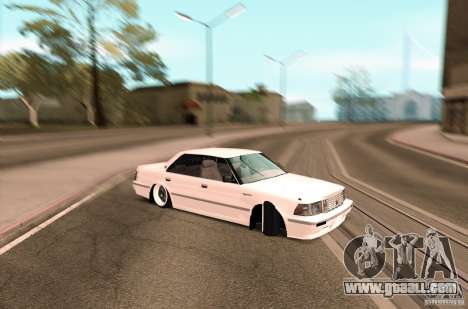 Toyota Crown S130 for GTA San Andreas