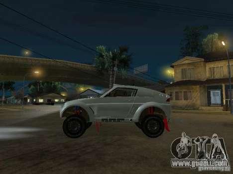 Mitsubishi Pajero EVO MPR11 for GTA San Andreas left view