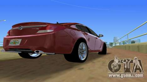 Buick Regal for GTA Vice City back view