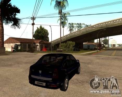 Dacia Logan 2008 for GTA San Andreas right view