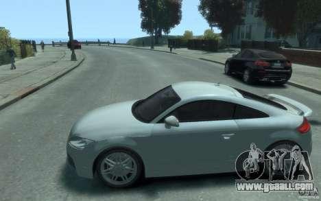 Audi TT-RS for GTA 4 left view